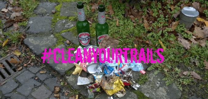 cleanyourtrails plogging Umweltschutz