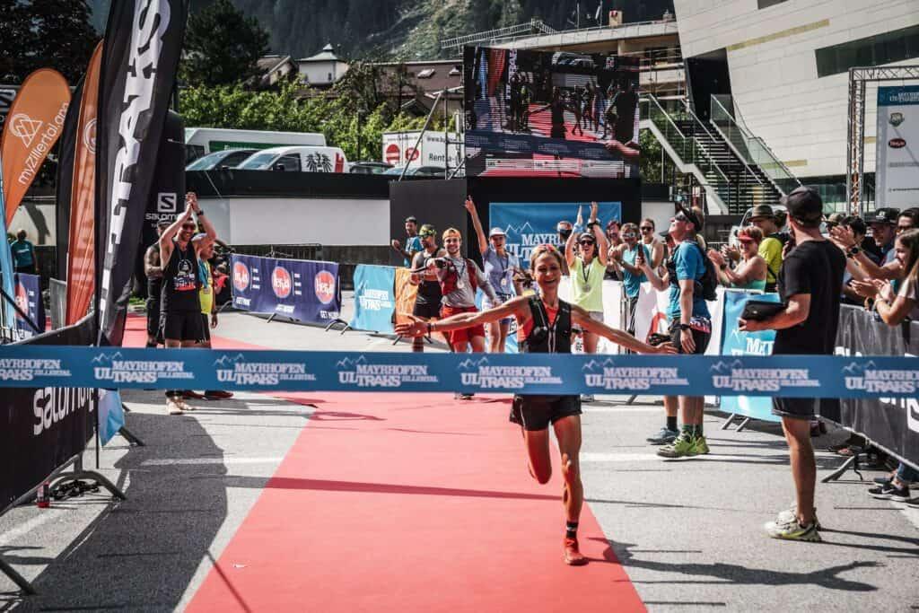 Lisa Risch Zieleinlauf Mayrhofen