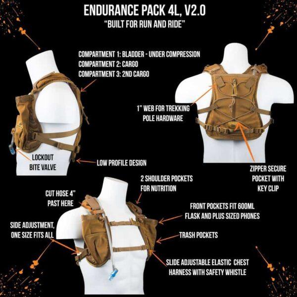 endurance pack 4l v2