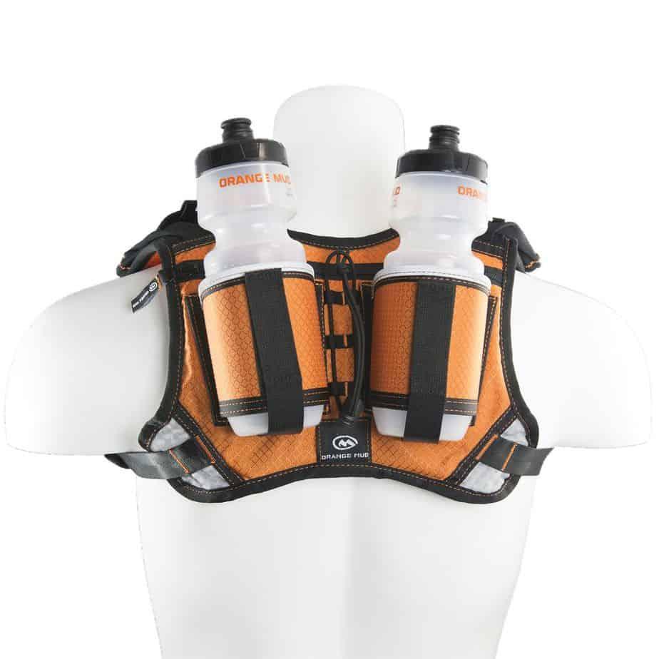 hydraquiver double barrel orange back 1