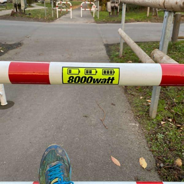 Maifeld-Radweg 8000 Watt