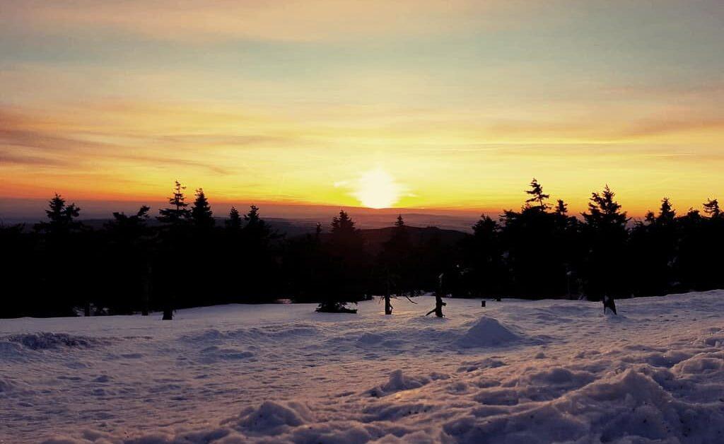 Brocken Panorama Sonnenaufgang