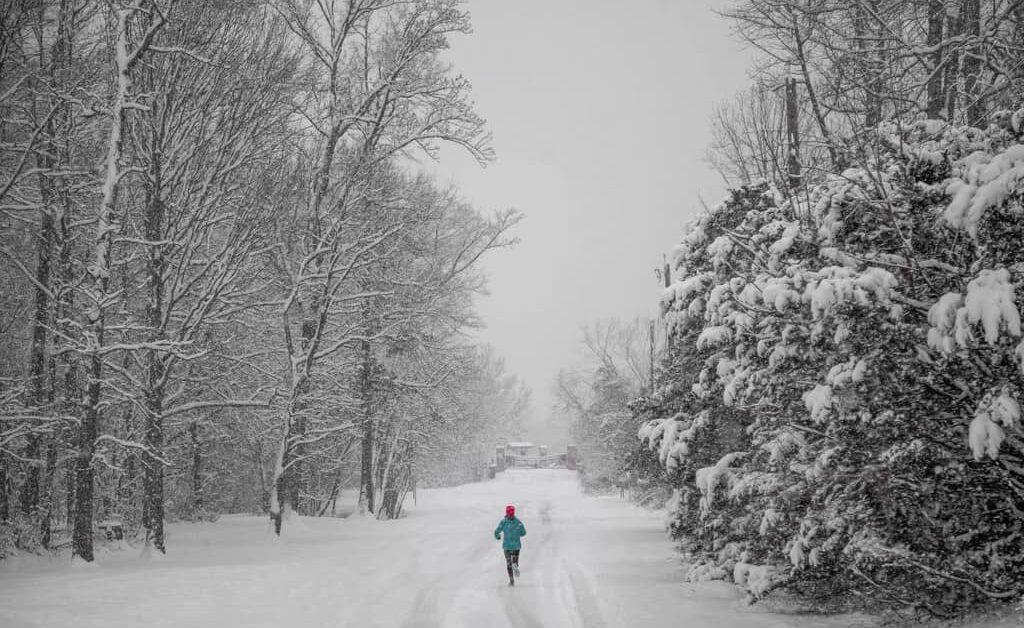Ultratraining im Winter