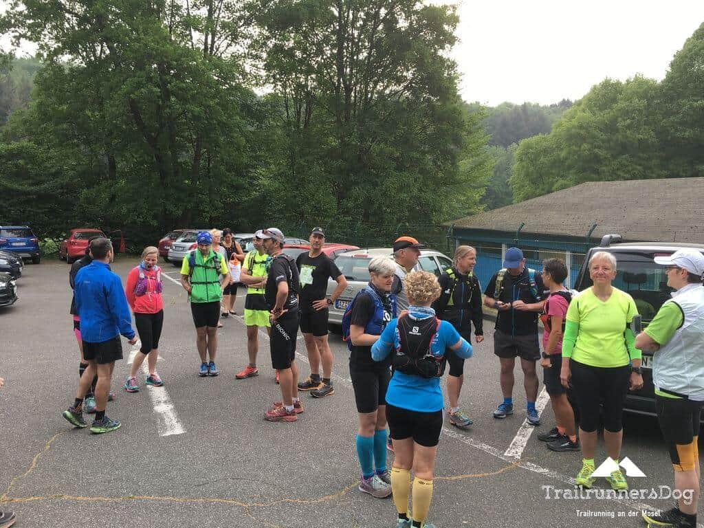 Westerwaldlauf 2018 50 Kilometerlauf vor dem Start